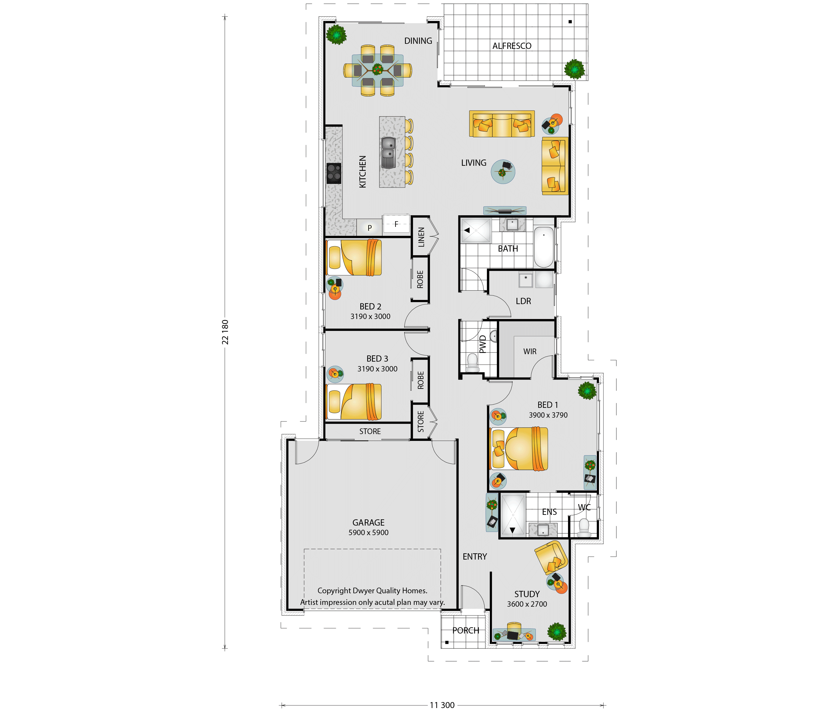 Alyssa Floorplans
