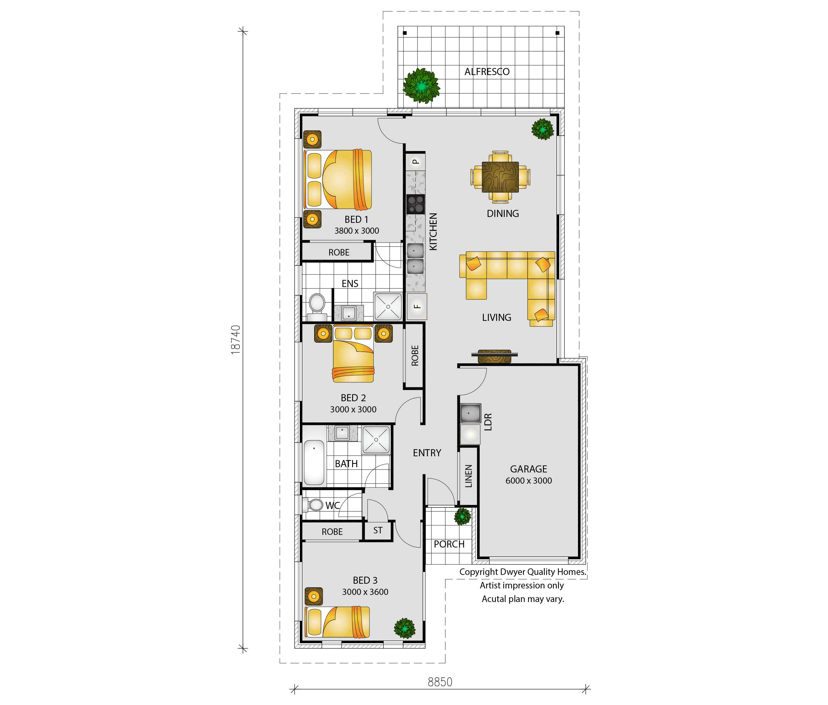 Antigua - Floorplans