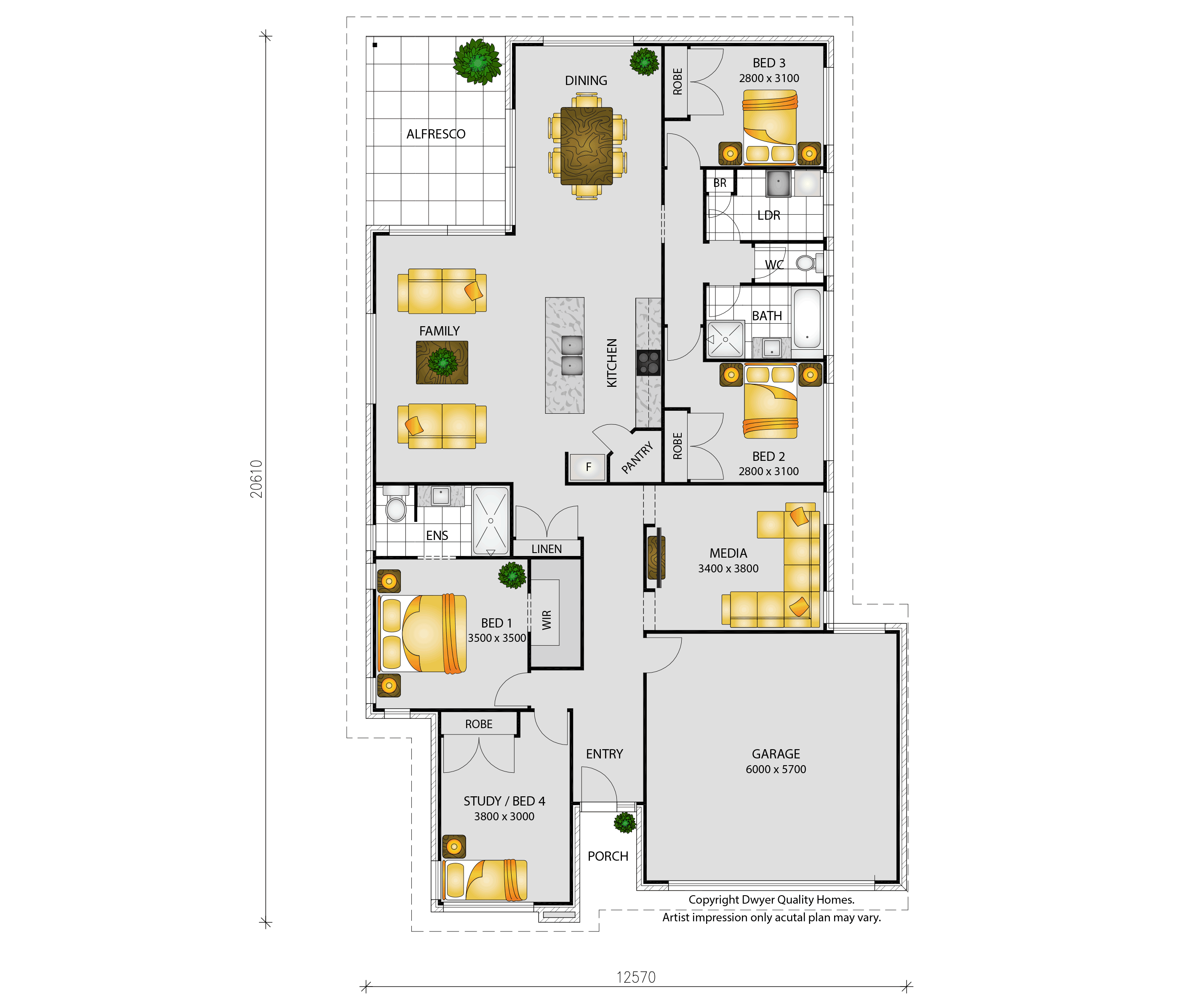 Bellflower - Floorplans