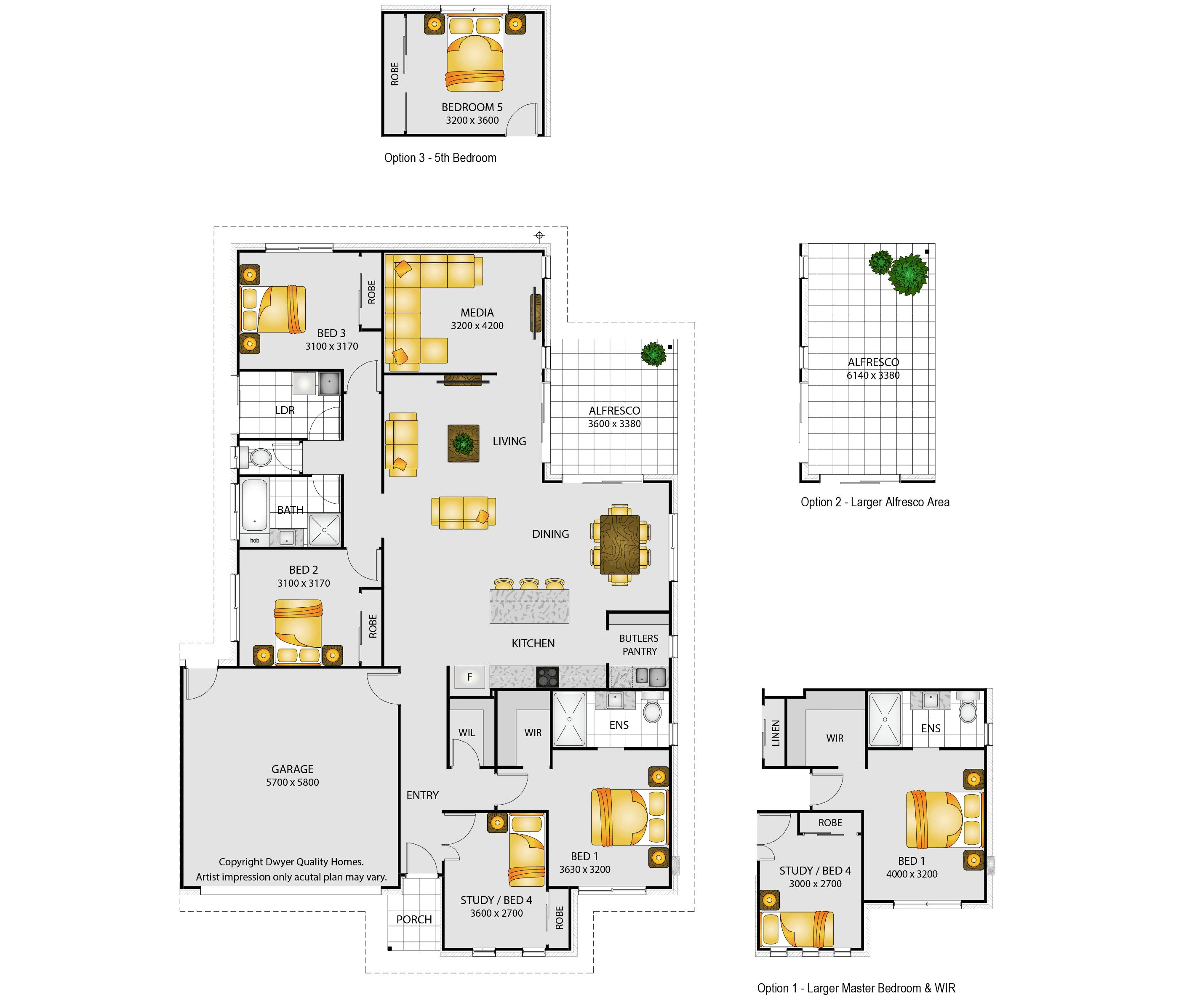 Brampton - Floorplans