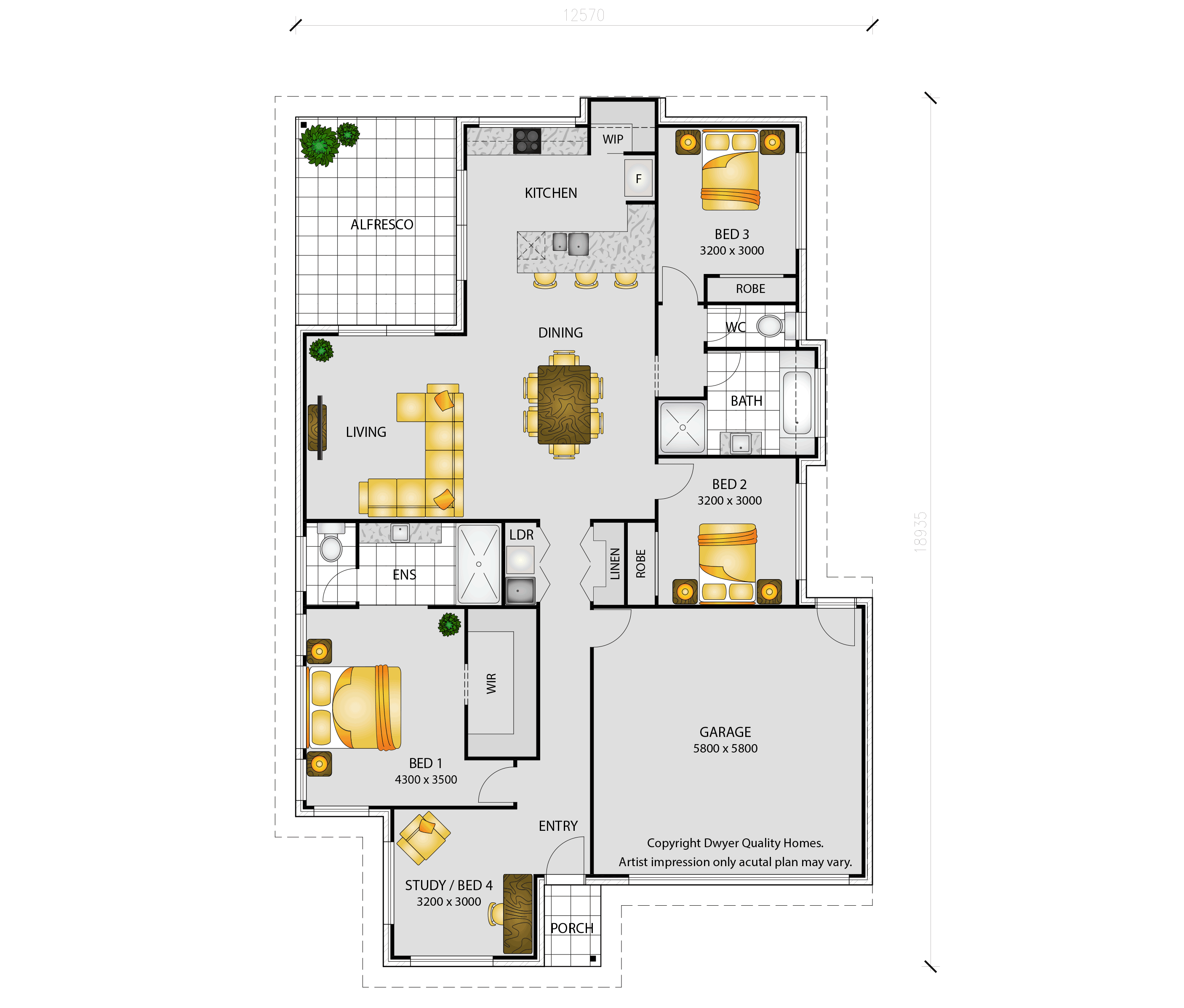 Breeze - Floorplans