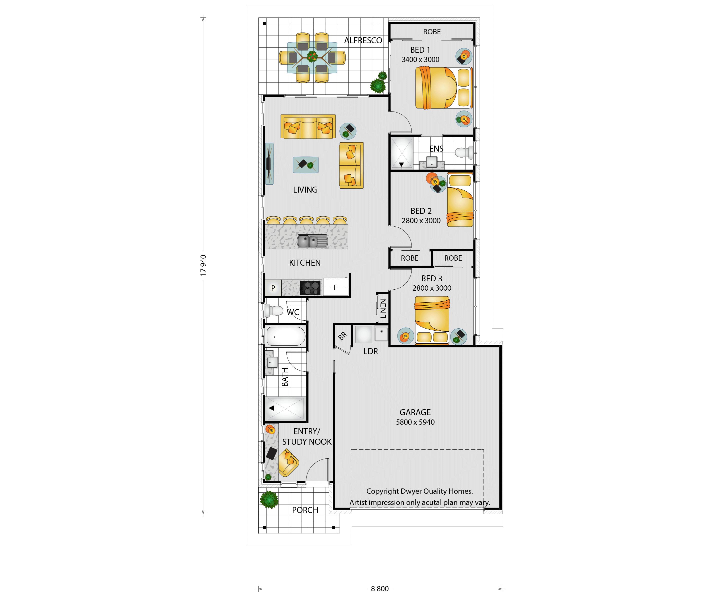 Cashmore - Floorplans