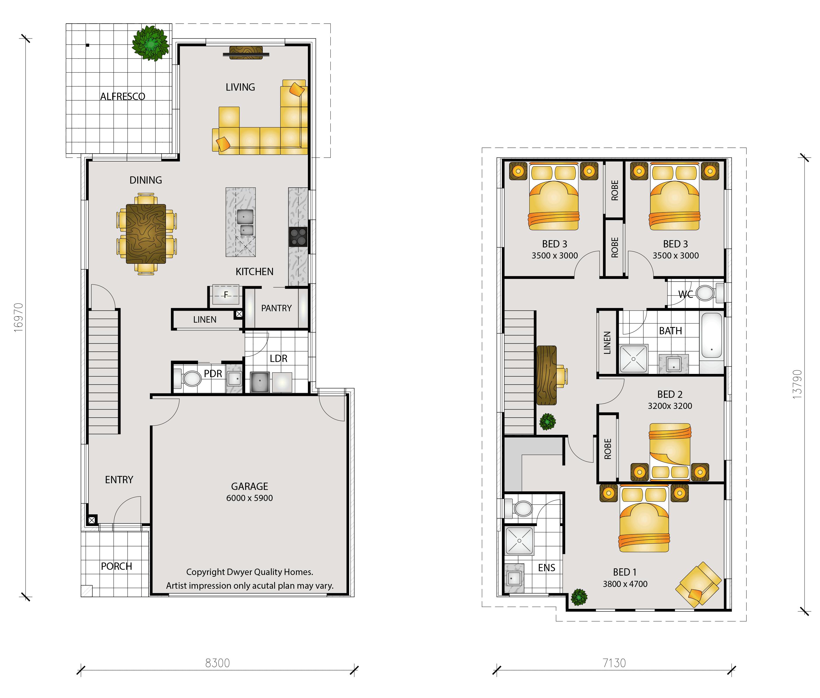 Echo - Floorplans