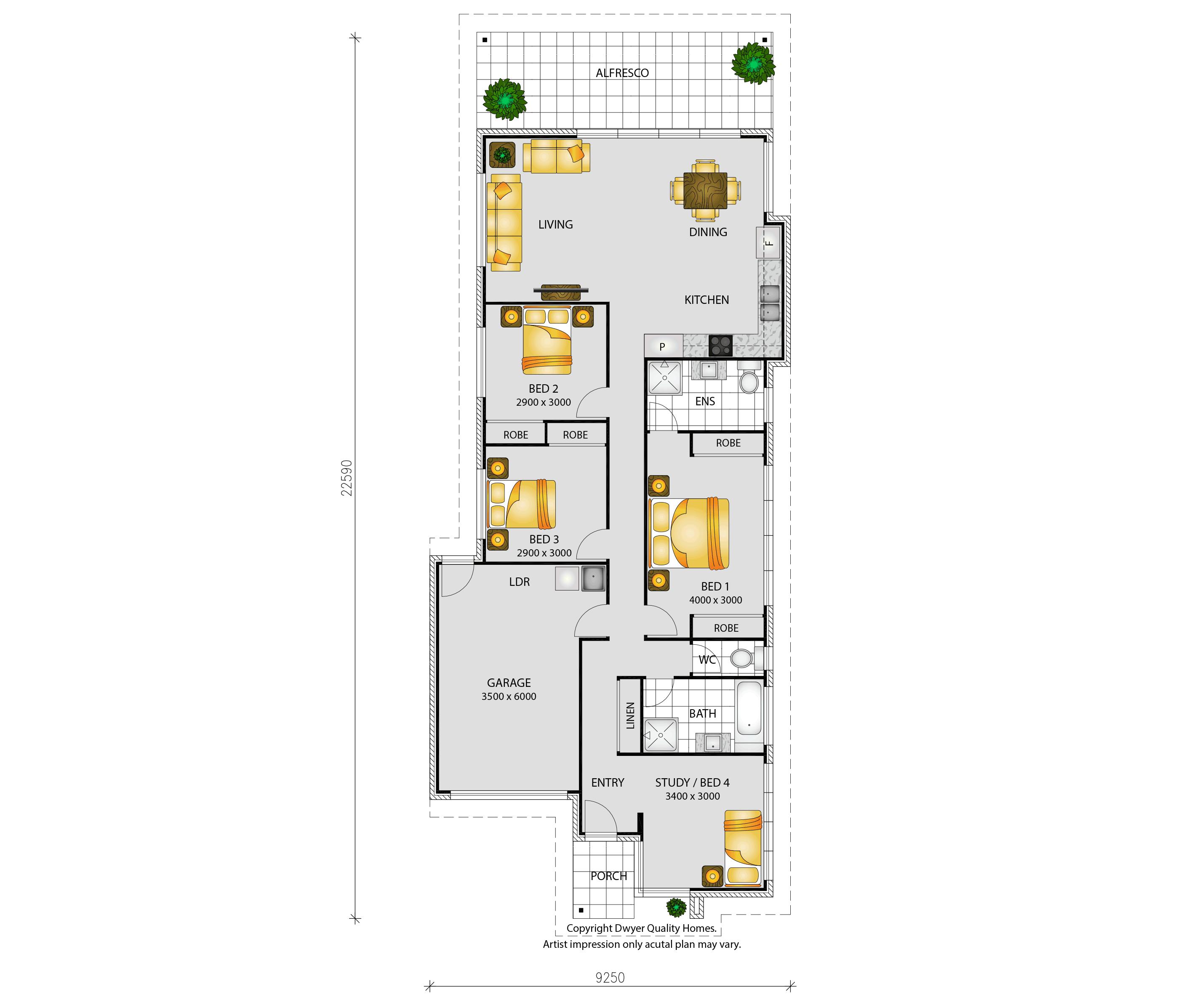 Elise - Floorplans