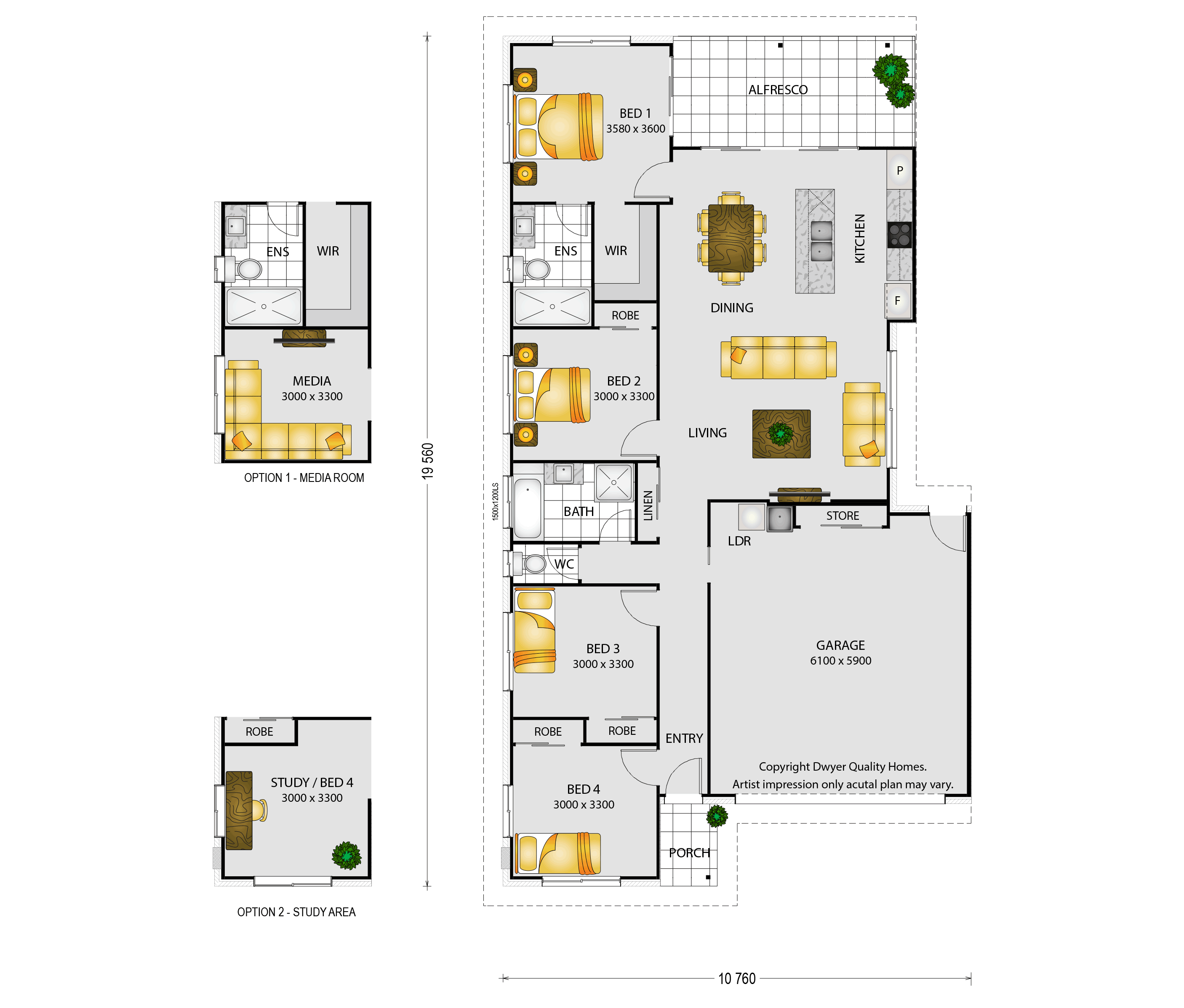 Forester - Floorplans