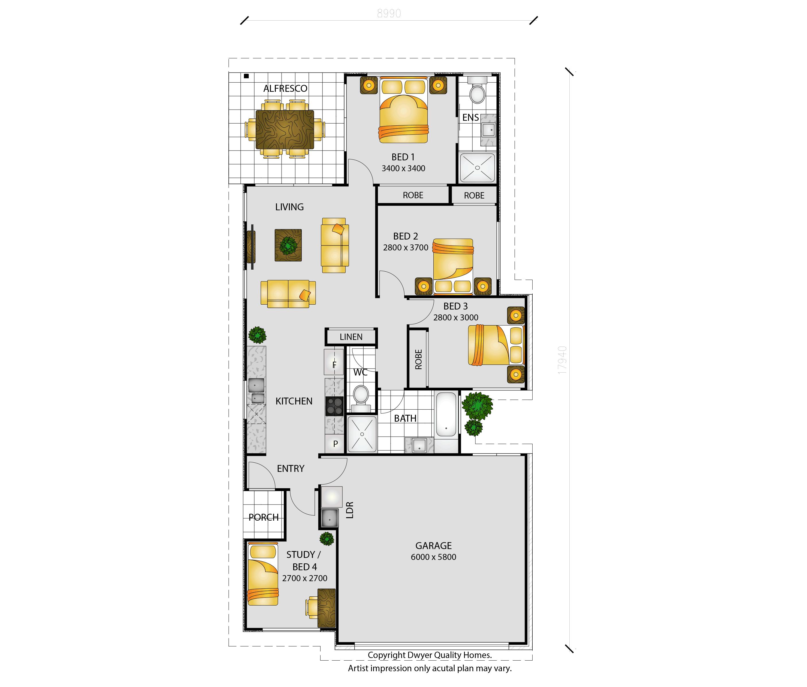 Havana - Floorplans