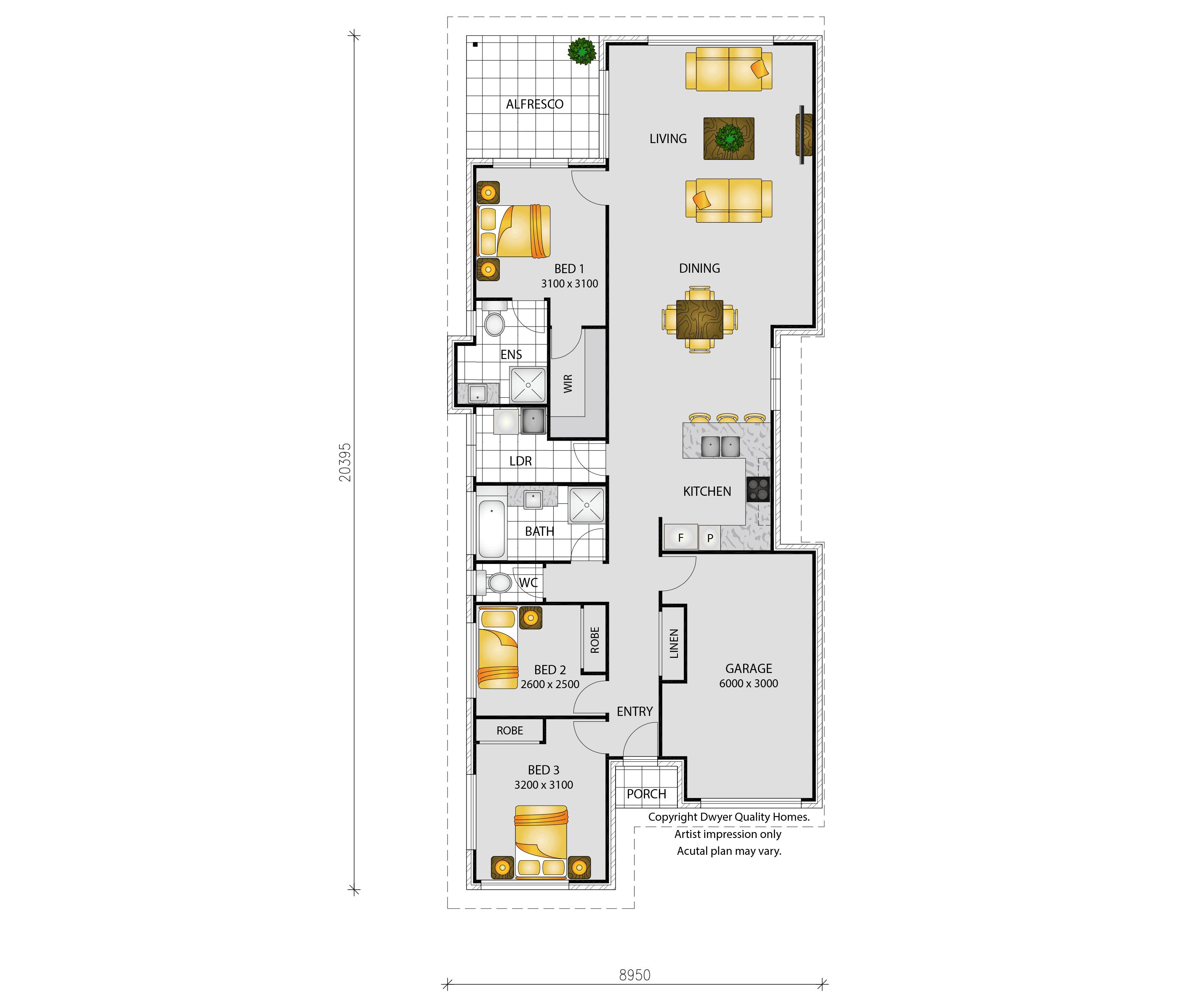 Kariba - Floorplans