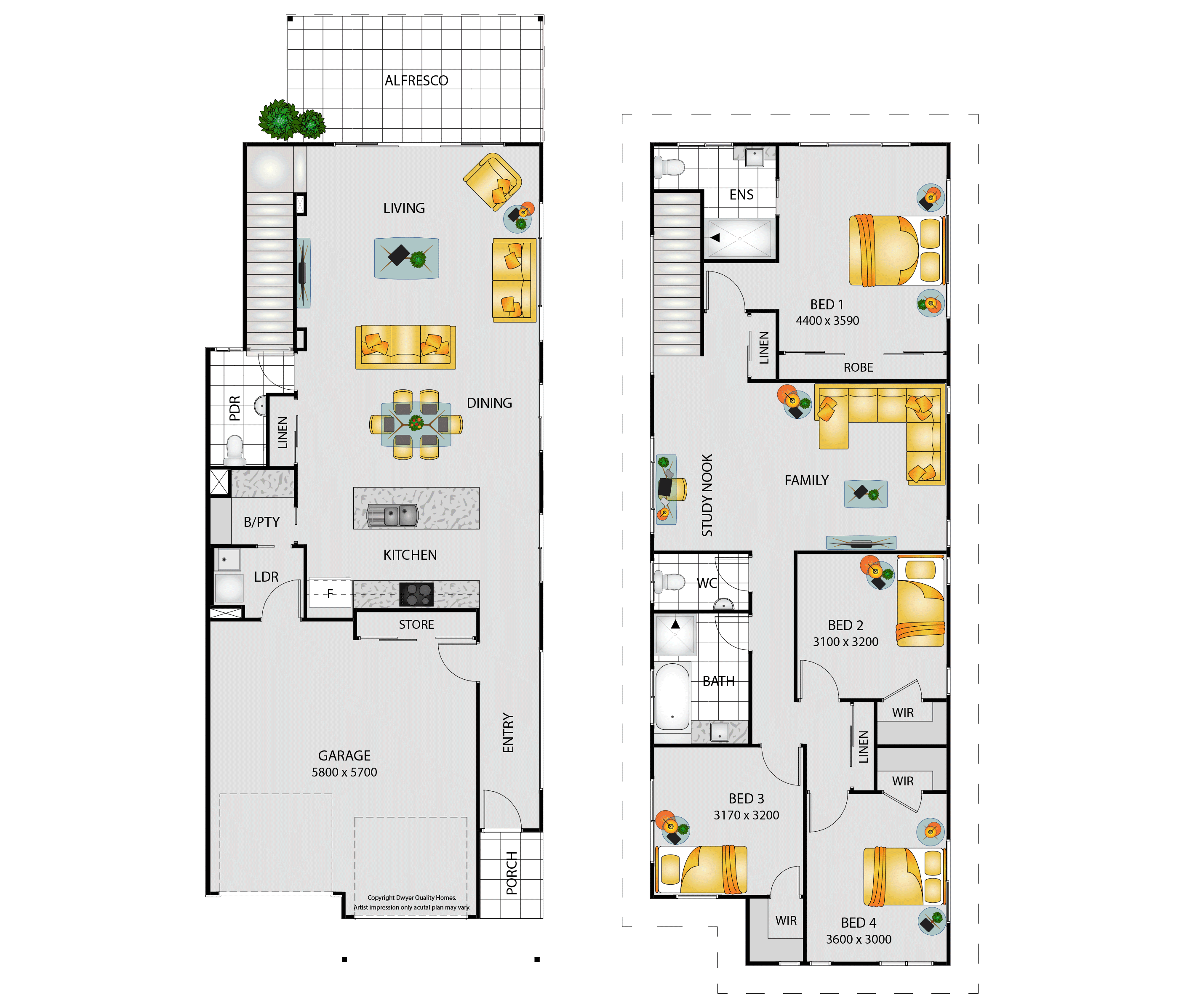 Montego Floorplan