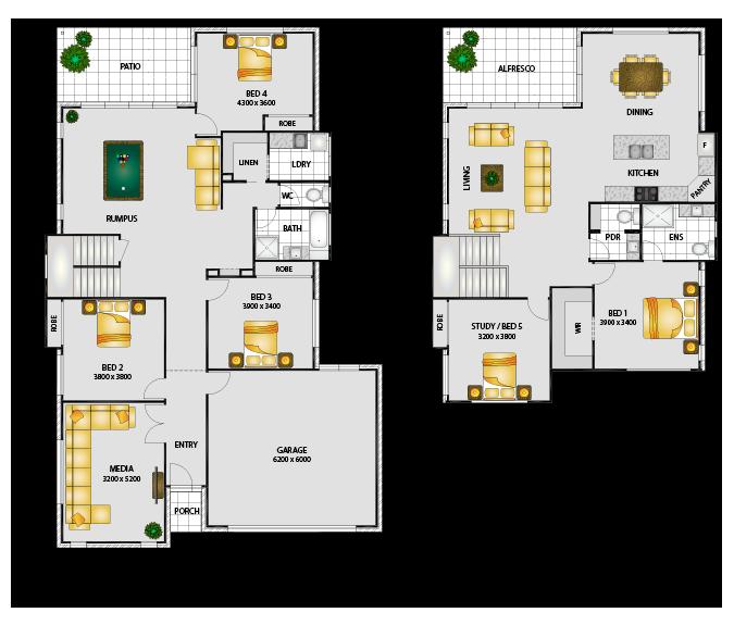 Samara - Floorplans