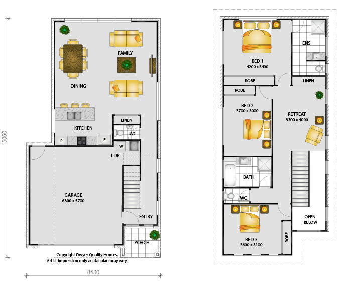 Suva - Floorplans
