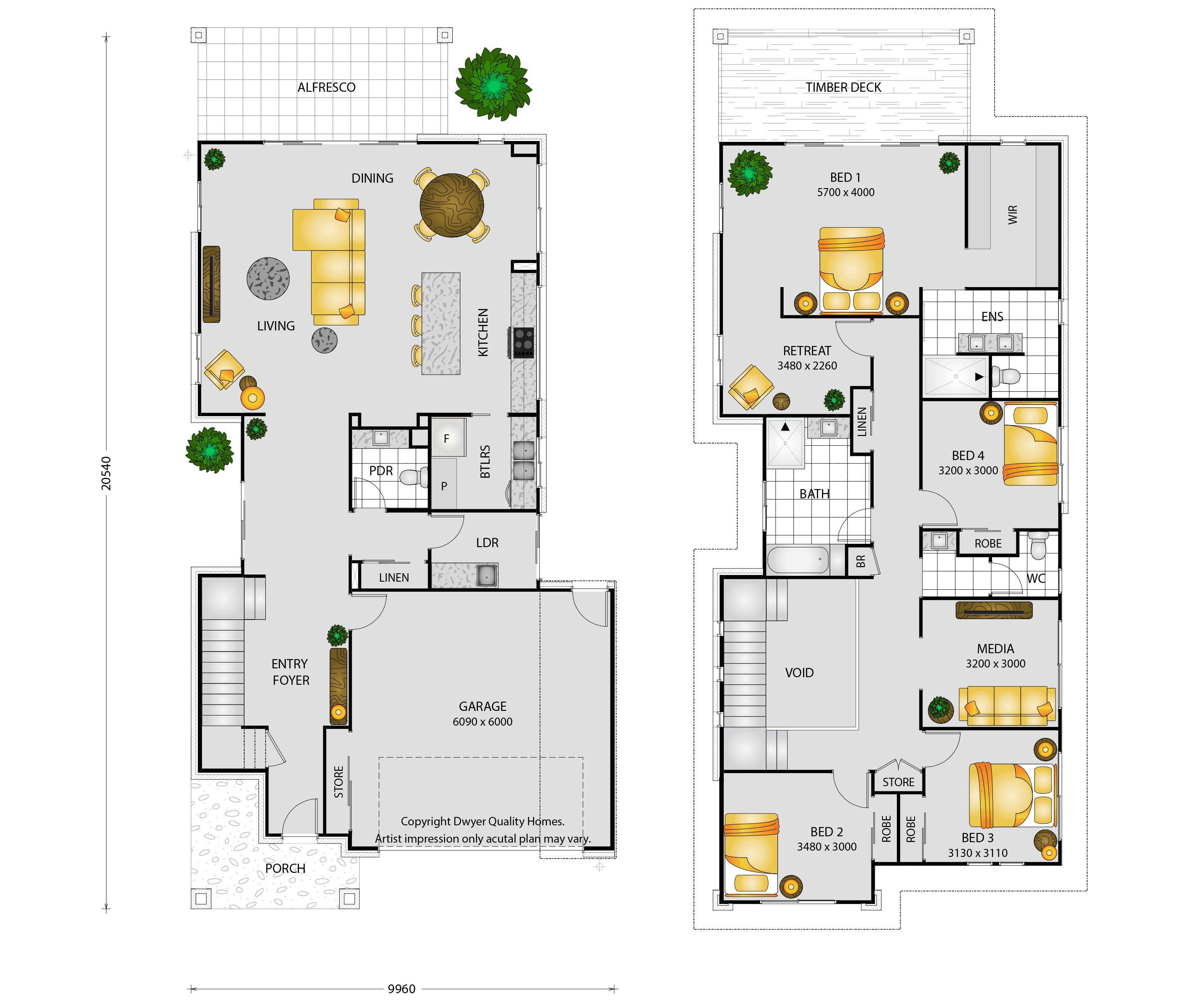 Varadero - Floorplans