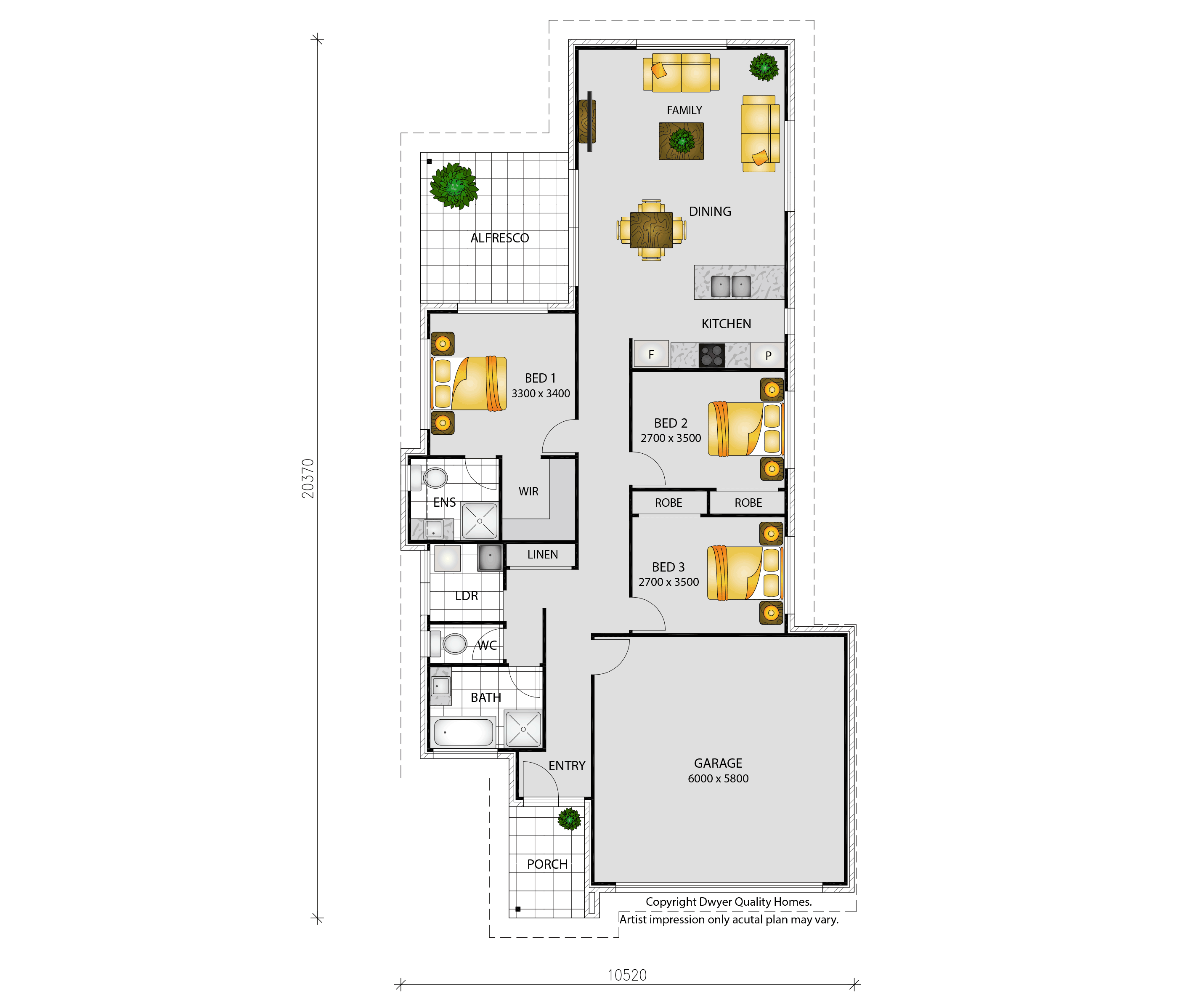 Dwyer Quality Homes - Sienna 167