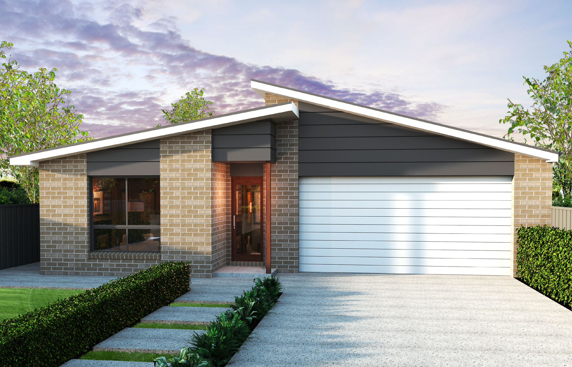 Display home at brookhaven dwyer quality homes new home builder sunshine coast builder